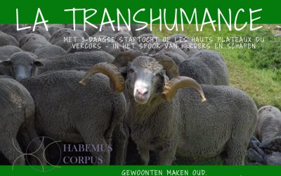 La Transhumance (24/6 – 1/7/2017)